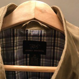 Brooks Brothers tan driving jacket